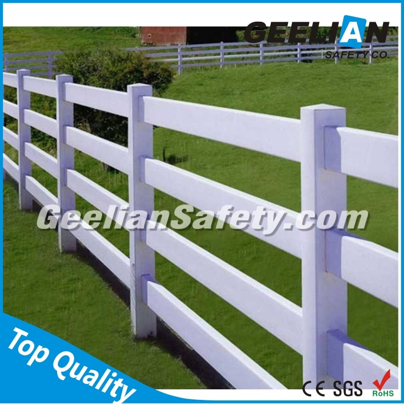 Pigtail Electric Fence Posts /Lightweight PVC Construction/pvc post fence