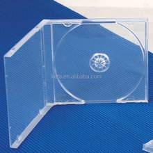 Wholesale Plastic Transparent 10.4mm Single PS Jewel CD Case