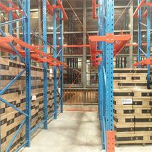 warehouse logical storage steel heavy duty Pallet drive-through racking systems FIFO factory supplier