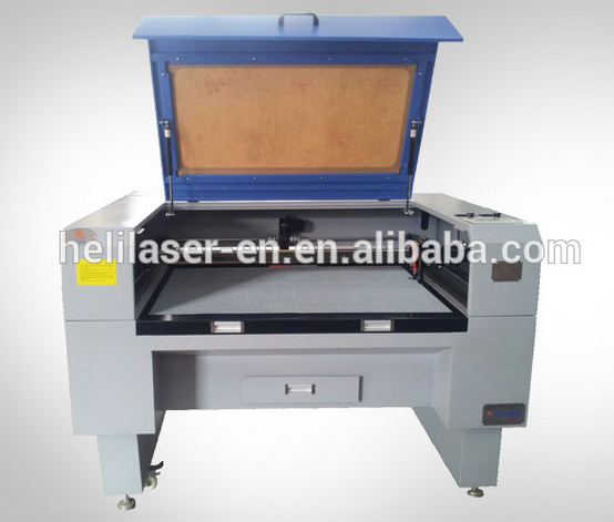 Hooly Fleece denim dress fabric laser cutting machine