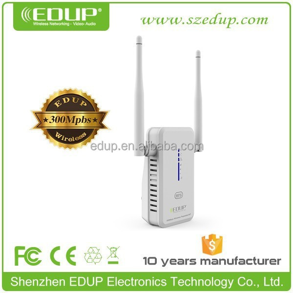 Wireless N Wifi Repeater 802.11N/B/G/AC Network Router Range Extender 300M 2dBi EP-2917