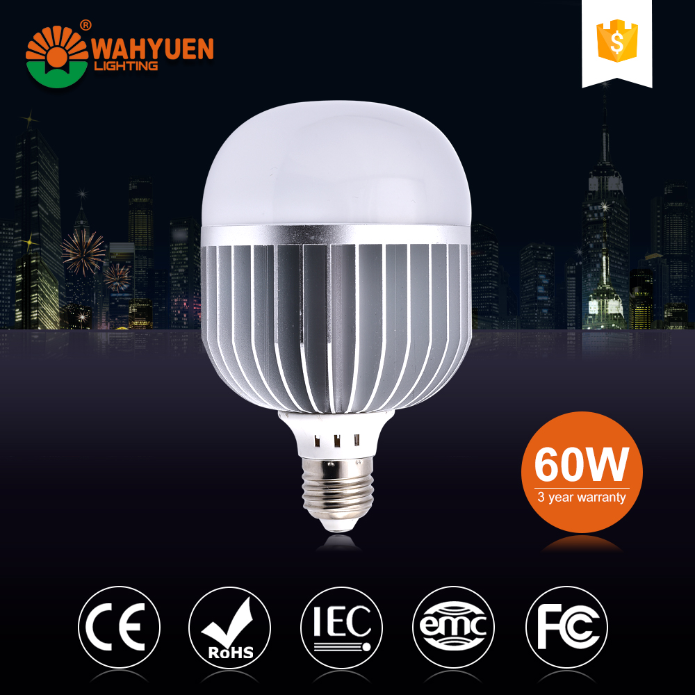 60W aluminum CE Rohs IEC 12w led light bulb with e19 base