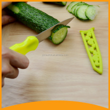 wholesale food safe kitchen paring and slicing knife with sheath for vegetable and fuirt