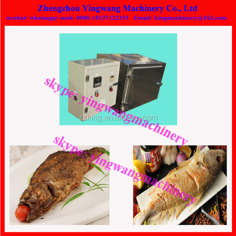Commercial electric heating fish roasting machine