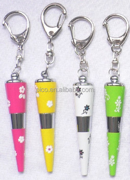 Custom Stationery Metal Mini Pen With Key Chain For Personalized Souvenir Gift