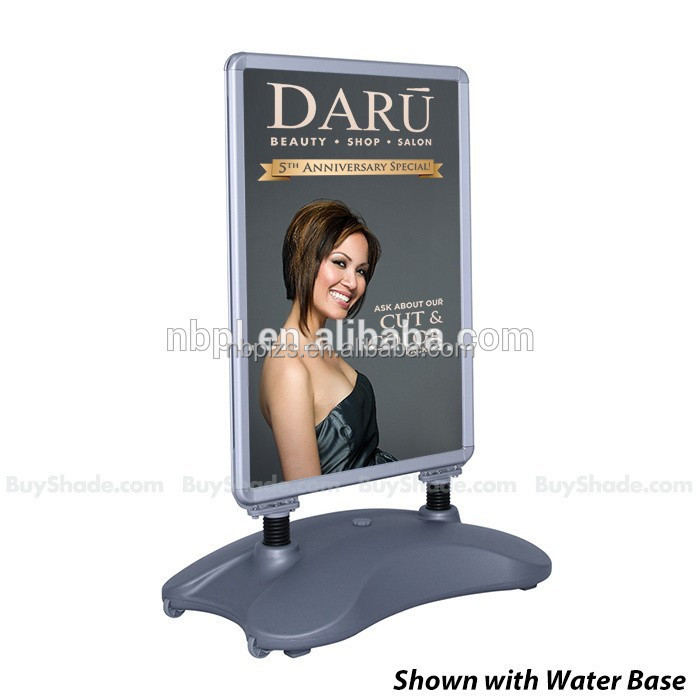 70*100 stand for advertising,PVC Sheet Water Base Pavement Sign,A board frame stand