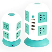 Eight Outlets Schuko Eu Wall Power Socket