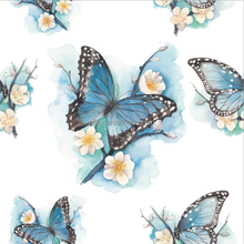 Fascinating Butterfly 75D 100%T Polyester Chiffon Digital Printing Fabric