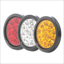 Universal Rubber Ring Red Green Blue Yellow White Dump Truck LED Tail Lights