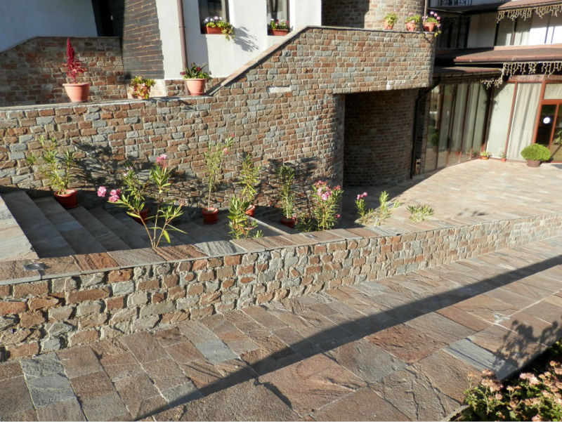 natural stone, gneiss,flagstone, walling, cladding, roofing,natural slate,veneer, building material