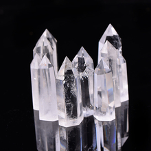 Natural clear quartz crystal point