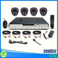 CCTV camera system kits cctv camera 720p two way audio p2p wireless ip camera leather police boots