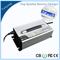 Automatic Lithium ion/ LiFePo4/ Lead Acid Battery Charger 24V 30A for Forklift