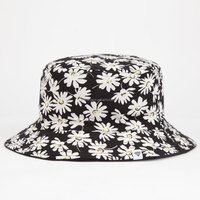 Fashion Design Custom Cotton Womens Floral Printed Bucket Hats