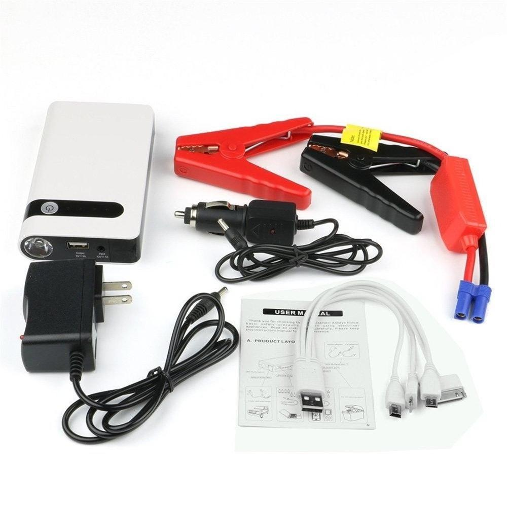 Power Tools auto 8000mah jump start cargador de bateria for gasoline car