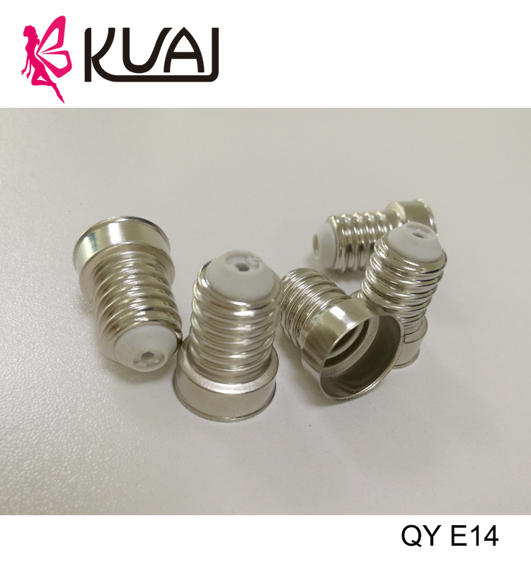 KUAI Top Selling Products 2017 Lamp Holder T210 E14 Screw Punching