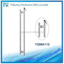 residence/apartment/home/office glass door down locking big pull handle