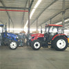 90hp 4WD farm tractor with front end loader and backhoe