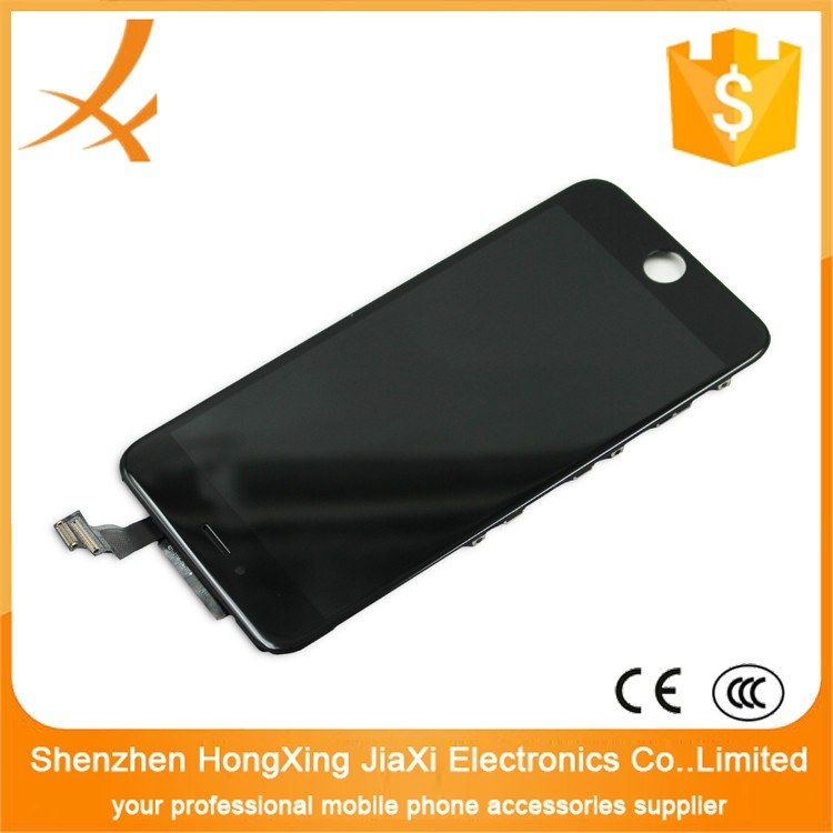 Low price and high quality mobile phones high quality material china mobile phone spare parts lcd for iphone 6plus