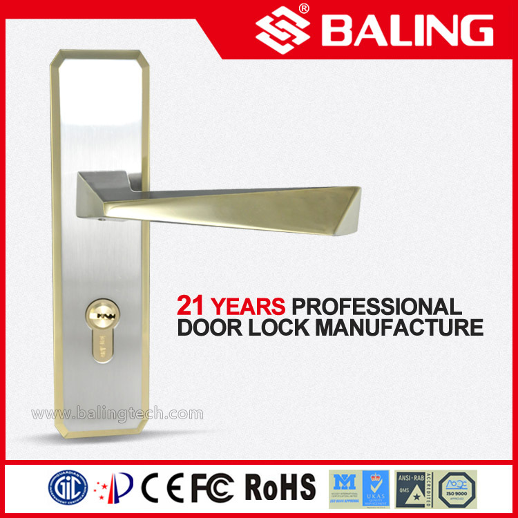 Z73194(NLS-KJ) Novelty Lever handle manual door lock