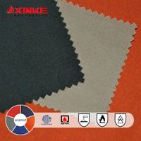 Fire resistant aramid fabric for oil&gas&mine&iron and steel industry