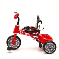 Upmarket mini fold 2 to 4 years children tricycle with push rod