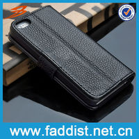 Deluxe Wallet Stand Leather Couple Case for iphone5