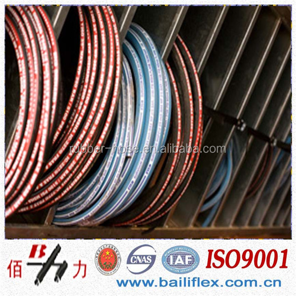 China Manufacture SAE 100 <strong>R1</strong> R2 Hydraulic hose 5/16 DN8 in high quality and economical price