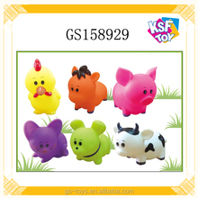 Soft Body Cartoon Animals 6 Inch Bouncing Farm Animals Toy