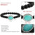 Trendy2017 Black Bead Jewelry Gifts Crystals Bangle Accessories Elastic Pink Green Stone Beads Yoga Bracelet For Women