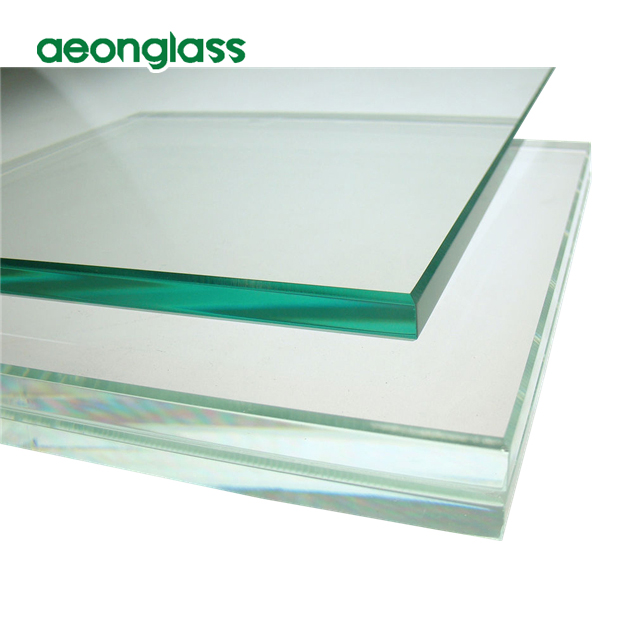 Clear Tinted Reflective Building Glass