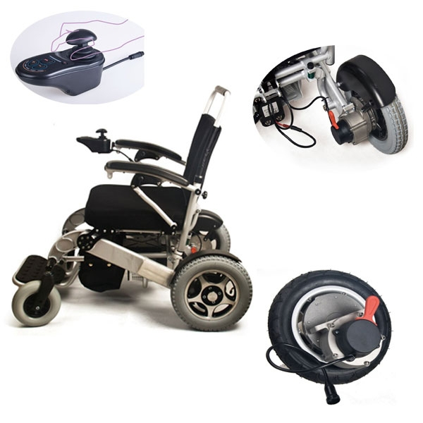 brushless wheelchair <strong>controller</strong> and hub motor kit for wheelchair