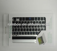 Ultra Slim Wireless Bluetooth 3.0 Aluminum keyboard for iPad mini