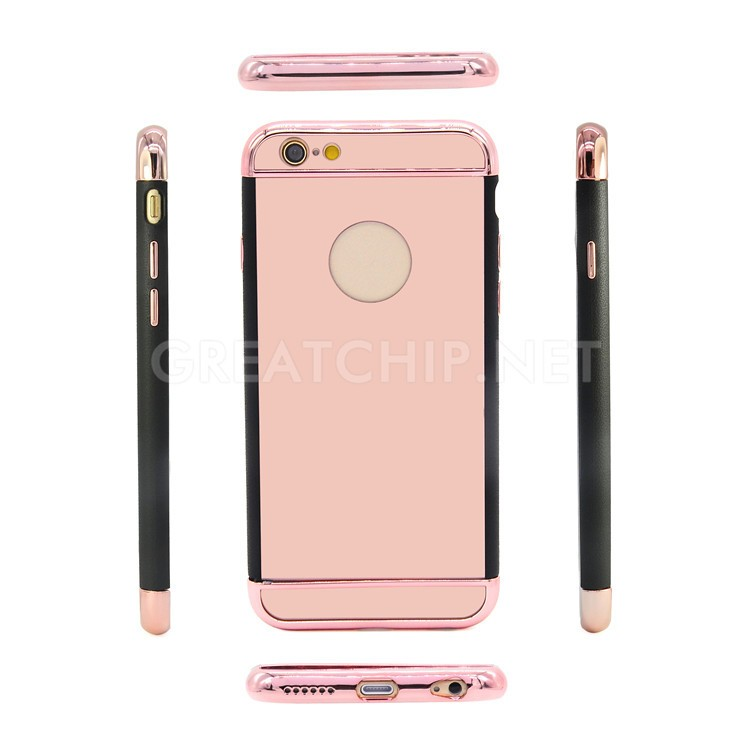 2016 11.11 festival Luxury aluminum for iphone 6 back housing,phone case for iphone 6s rose gold