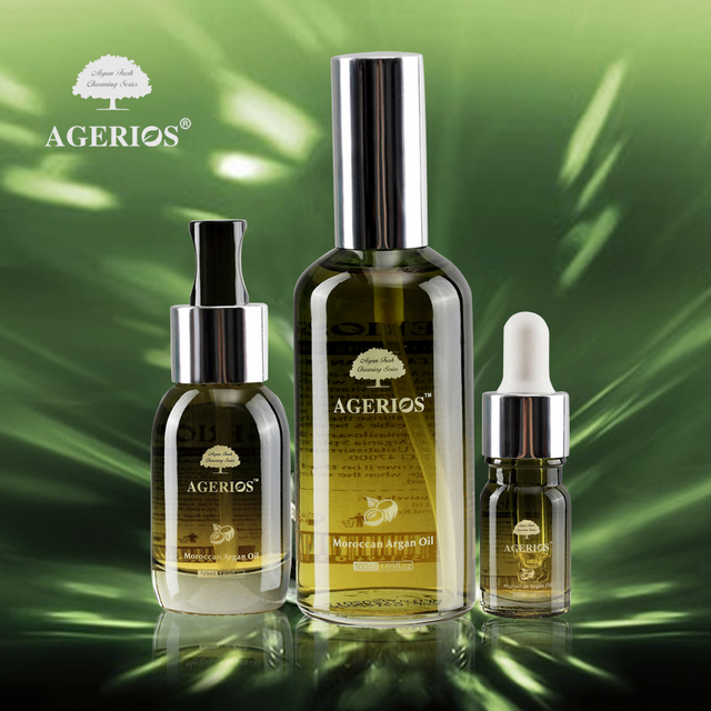 Wholesaler Miracle Agerios series hair oil argan oil moroccan 100ml for sale
