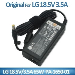 Hot Genuine laptop charger for LG 18.5V 3.5A 65W adapter 4.8*1.7mm manual laptop charger