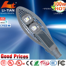 high efficient aluminum housing ce certified powered led street lamp