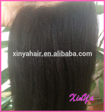 Stock top quality 4x4 light yaki lace closure