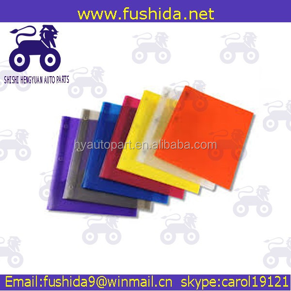 Stationery OEM factory plastic PP clip file folder/file holding clips