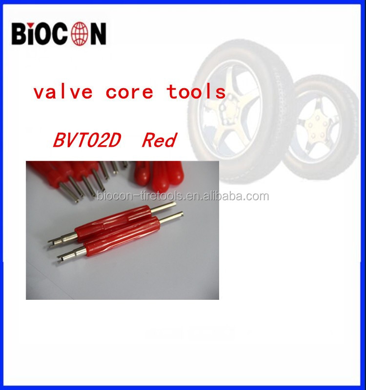 Red Plastic Handle one Way Valve Core Remover Tire Repair Tool BVT02D