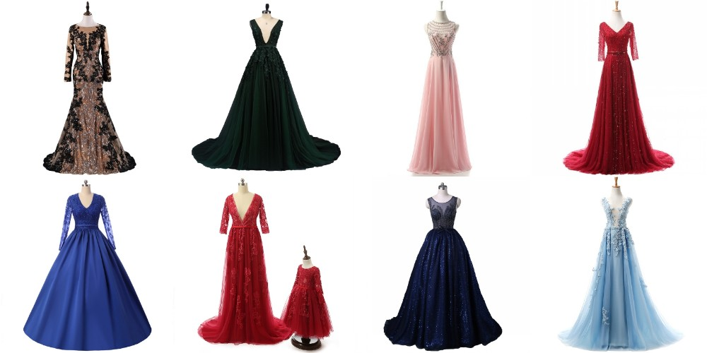ASEY02 Sexy Mermaid female gown dresses Two Piece Evening Dress Latest Party Wear dresses for Girls