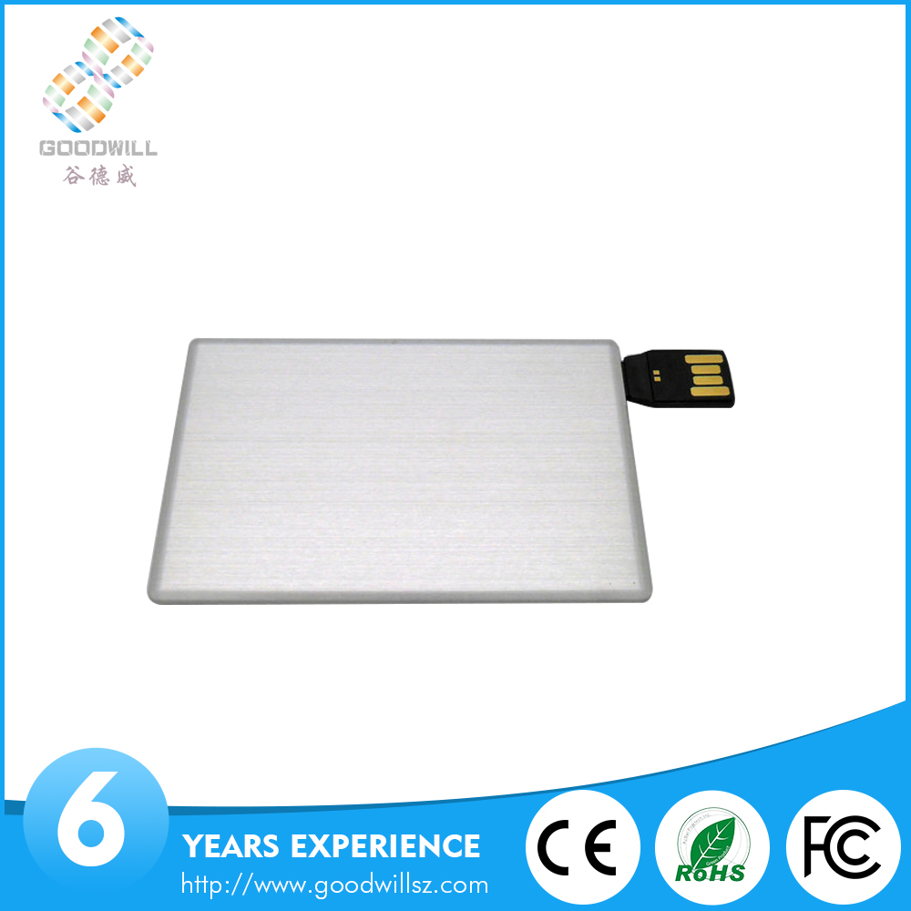2016 Hot sell office usb flash drive credit card