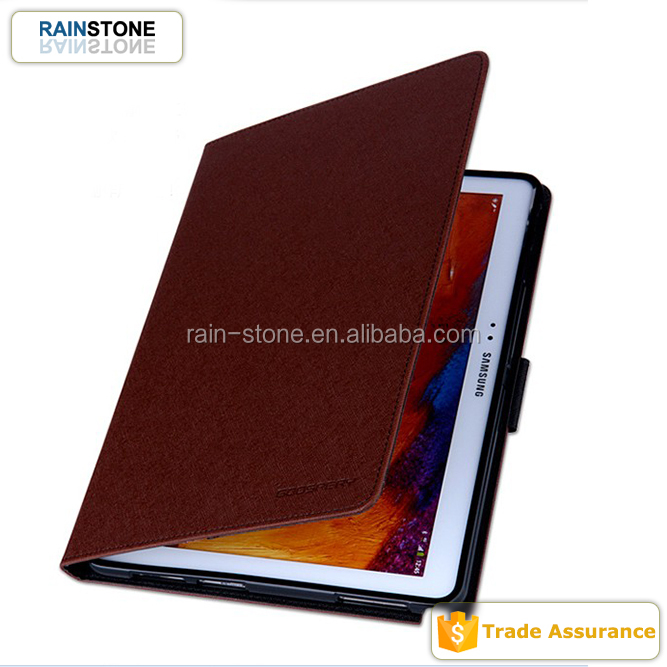 High end taiga pattern tablet case cover, for galaxy tab 2 P3100 case, tablet 7.0 case
