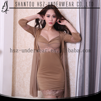 New design cheap sexy nightdress high quality sex nighty comfortable sexy breast lingerie