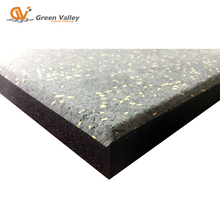 Noise insulating recycled rubber patio pavers rubber flooring gym