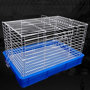 Used Indoor Commercial Welded Wire Mesh Meat Rabbit Breeding Farming Industrial Cage Sale For Rabbit