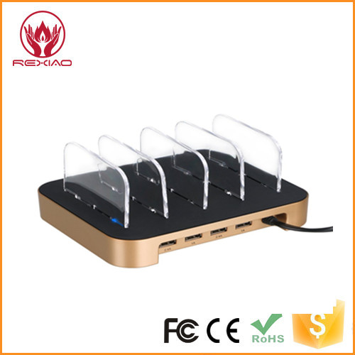 multi mobile phone universal charging station/4 Port USB Chargers for All Devices