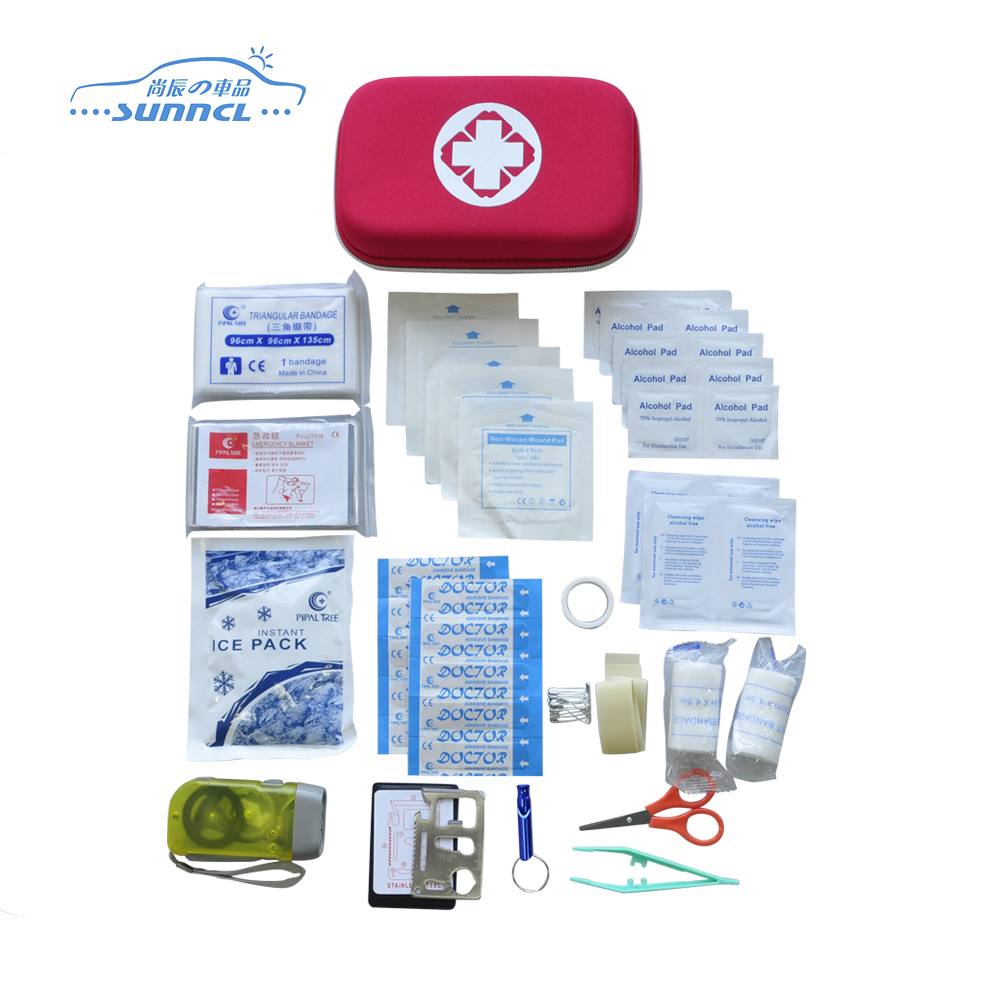 Competitive price light weight emergency first aid kit bag, first aid kit box, first aid bag