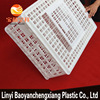 Cheap rabbit breeding cage,indoor plastic rabbit cage trays