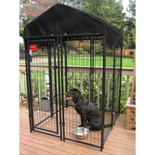welded dog gates& pens/outdoor dog run/large dog house